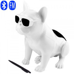 Bluetooth-колонка Aerobull BIG DOG S4, c функцией speakerphone, радио, WHITE