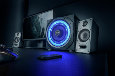Акустична система Trust GXT 688 Torro 2.1 Illuminated Speaker Set (TR23043)