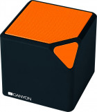 Акустична система Canyon Portable Bluetooth Speaker Black/Orange (CNE-CBTSP2BO) - зображення 1