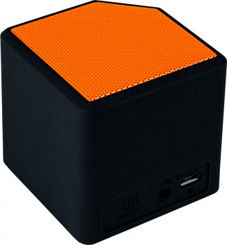 Акустична система Canyon Portable Bluetooth Speaker Black/Orange (CNE-CBTSP2BO)