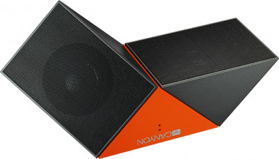 Акустична система Canyon Transformer Portable Bluetooth Speaker Black/Orange (CNS-CBTSP4BO)