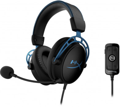 Навушники HyperX Cloud Alpha S (HX-HSCAS-BL/WW)