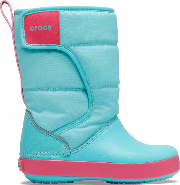 Сапоги Crocs Kids Lodge Point Snow Boot K 204660-4JA-C6 22-23 13.2 см Голубые (191448354937) - изображение 1