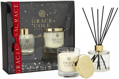 Набор Grace Cole Delightful Duo Nectarine Blossom & Grapefruit (5055443654698)