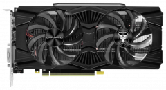 Gainward PCI-Ex GeForce RTX 2060 Phoenix 6GB GDDR6 (192bit) (1680/14000) (HDMI, DisplayPort, DVI-D) (426018336-4320)