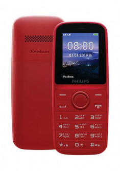 Philips Xenium E109 Dual Sim Red (CTE109RD_00)