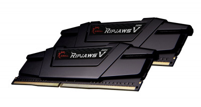Модуль памяти DDR4 2x16GB/3200 G.Skill Ripjaws V Black (F4-3200C16D-32GVK)