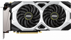 MSI PCI-Ex GeForce RTX 2070 Ventus OC 8GB GDDR6 (256bit) (1785/14000) (HDMI, 3 x DisplayPort) (RTX 2070 Super Ventus OC)