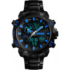 Часы Skmei 1306 Steel Black-Blue
