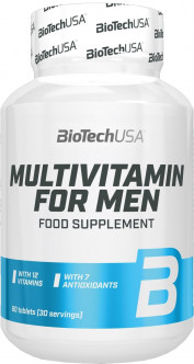 Витамины Biotech Multivitamin for Men (MEN'S PERFORMANCE) 60 таблеток (5999500536681)