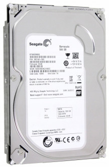 Жесткий диск Seagate Desktop HDD 7200.12 500GB 7200rpm 16MB ST500DM002 3.5 SATA III Б/У