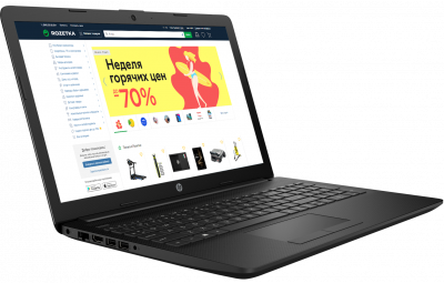 Ноутбук HP Notebook 15-db1097ur (7SF21EA) Black