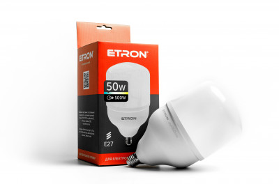 LED лампа ETRON High Power 1-EHP-305 T140 50W 6500K 220V E27