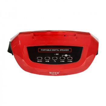 Портативная Bluetooth колонка Wster WS-Y96B Red