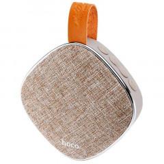 Портативная Bluetooth колонка Speaker Hoco BS9 Brown