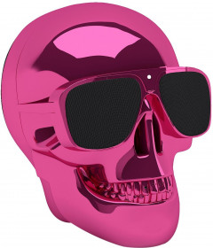 Колонки Jarre Technologies AeroSkull Nano Chrome Pink ML80113