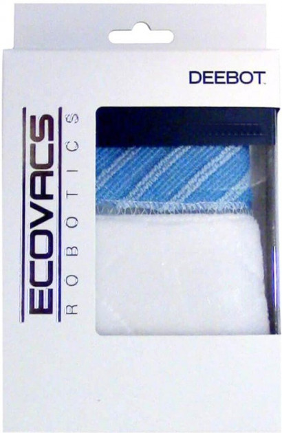 Салфетка ECOVACS Advanced wet/dry cleaning cloths for Deebot DN78 (D-S683) D-S683