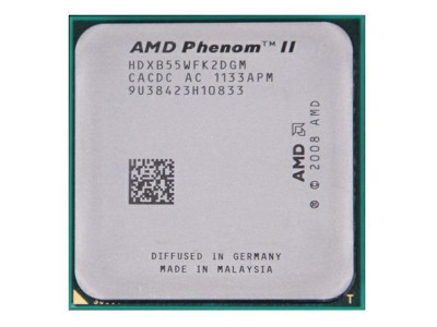 Процесор AMD Phenom II X2 B55 (Socket AM3) Tray (HDXB55WFK2DGM)