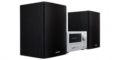 CD-міні система з Bluetooth Onkyo CS-375D Silver-Black
