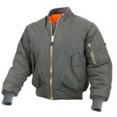 Куртка бомбер Rothco MA1 Flight Jacket M оливковая