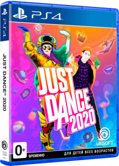 Игра Just Dance 2020 для PS4 (Blu-ray диск, Russian version)