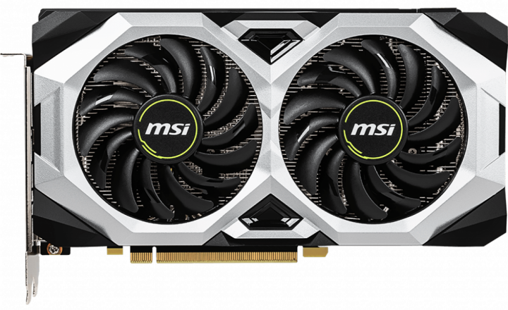 MSI PCI-Ex GeForce RTX 2060 Super Ventus GP OC 8GB GDDR6 (256bit) (1665/14000) (HDMI, 3 x DisplayPort) (RTX 2060 SUPER VENTUS GP OC) - зображення 1