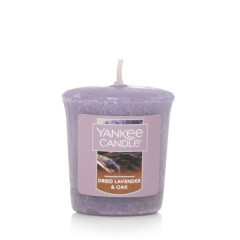 Ароматическая свеча Yankee Candle VOTIVE 15H Dried Lavender & Oak (1623587E)