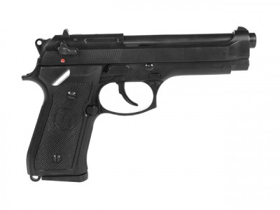 Пістолет KJW Beretta M92F/M9 Metal Green Gas (Страйкбол 6мм)