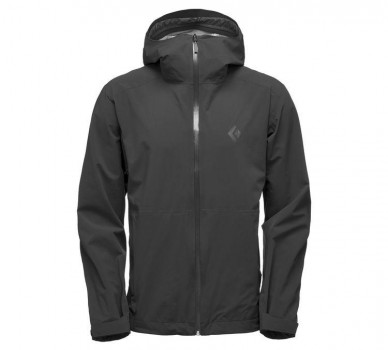 Куртка Black Diamond Stormline Strech Rain Shell Black
