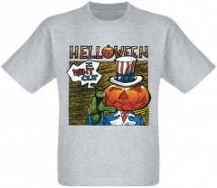 Футболка Fat Cat Helloween - I Want Out (меланж) XL 18097