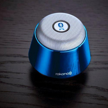 Портативная Bluetooth колонка Rokono B10 MP3 Blue (3_2700)