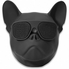 Портативная Bluetooth колонка Aerobull DOG Head Big черная (nk6430)