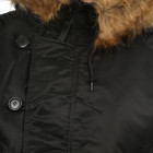 Куртка Alpha Industries N-2B Parka S Black - изображение 6