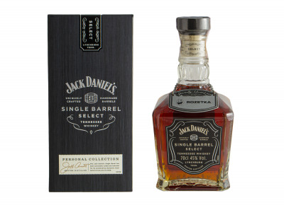 Теннессі Віскі Jack Daniel's Single Barrel 0.7 л 45% (5099873388655)