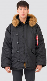 Парка Alpha Industries MJN31000C1 N-3B Parka XS Black (640631439673)