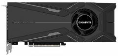 Gigabyte PCI-Ex GeForce RTX 2080 Super Turbo 8G 8GB GDDR6 (256bit) (1815/15500) (Type-C, HDMI, 3 x Display Port) (GV-N208STURBO-8GC)