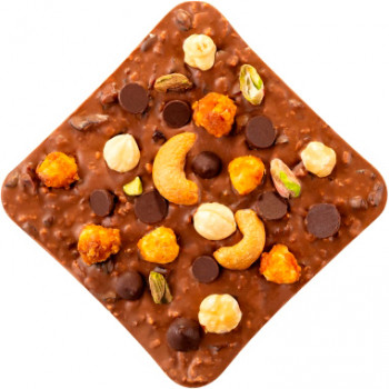 Шоколад Spell Milk Chocolate&Best Nuts 120 г (4820207310339)