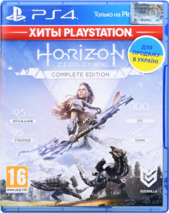 Игра Horizon Zero Dawn. Complete Edition для PS4 (Blu-ray диск, Russian version)