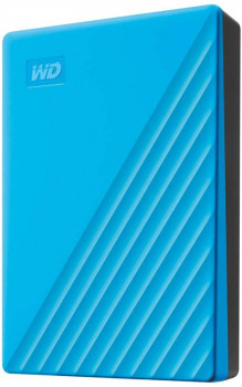 "Жорсткий диск Western Digital My Passport 4TB WDBPKJ0040BBL-WESN 2.5"" USB 3.0 External Blue"