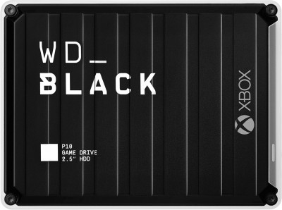 "Жорсткий диск Western Digital WD BLACK P10 Game Drive for Xbox One 3TB WDBA5G0030BBK-WESN 2.5"" USB 3.2 External Black"