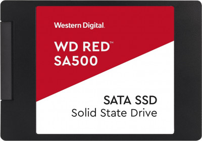 "Western Digital Red SA500 SSD 500GB 2.5"" SATAIII (WDS500G1R0A)"