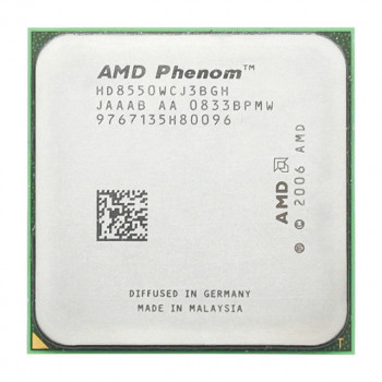 Процессор AMD Phenom X3 8550 3 Ядра, 2.2GHz, sAM2+ / AM2, Tray ( HD8550WCJ3BGH ) Б/У