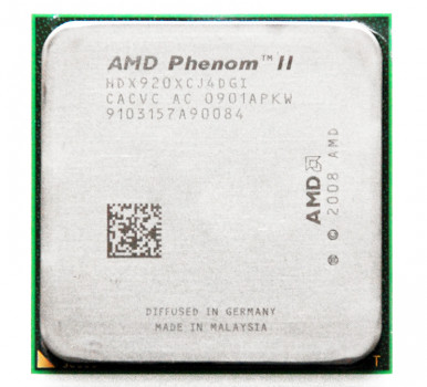 Процессор AMD Phenom II X4 920 4 Ядра, 2.8GHz, sAM3 / AM2+, Tray ( HDX920XCJ4DGI ) Б/У