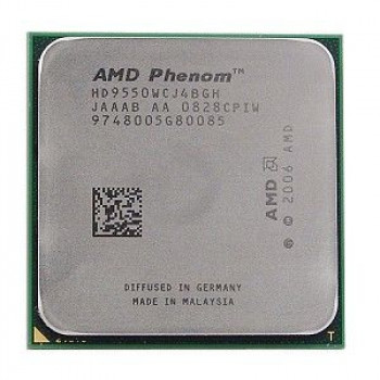 Процесор AMD Phenom X4 9950 Black Edition 4 Ядра, 2.6 GHz, sAM2+ / AM2, Tray ( HD995ZFAJ4BGH ) Б/У