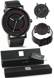 Наручные часы a.b.art Black & Red Date Point O150