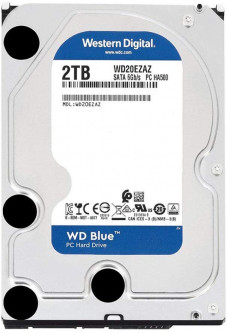 "Жесткий диск Western Digital Blue 2TB 5400rpm 256MB WD20EZAZ 3.5"" SATAIII"