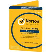 Антивирус Norton by Symantec NORTON SECURITY DELUXE 5D 2 Year 5 Device ESD key (21390892)