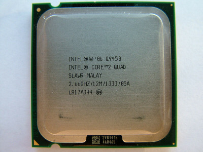 Процесор Intel Core2 Quad Q9450 LGA775 2.66 GHz/ 12 MB/ 1333 Mhz s775 Tray Б/У