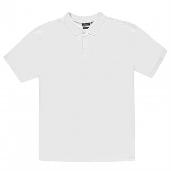 Поло Pierre Cardin XL Plain Polo Shirt Mens 4XL Wide White (3998883)