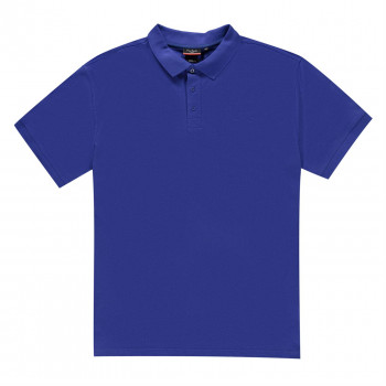 Поло Pierre Cardin XL Plain Polo Shirt Mens 4XL Wide Royal Blue (3998914)
